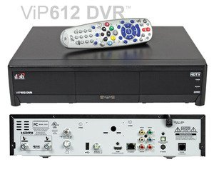 Factory Remanufactured Dish Network ViP 612 HD-DVR Single-Room Dual Tuner Receiver