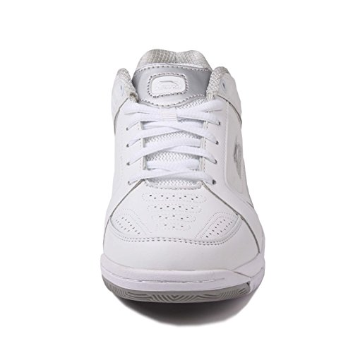 Shoes 4 UK Womens Silver Slazenger White Tennis OEwqCxTw4f
