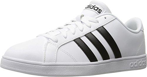 adidas+NEO+Men%27s+Baseline+Fashion+Sneaker%2C+White%2FBlack%2FWhite%2C+10.5+M+US