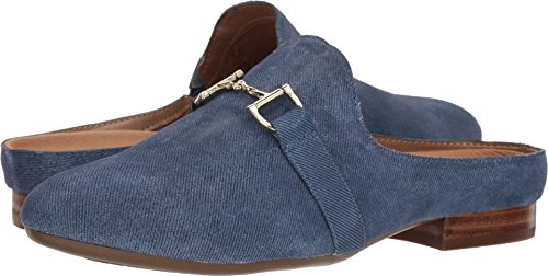 Aerosoles Women's Out of Sight Mule, mid Blue Suede, 6 M US