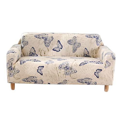 YFMMM Stretch Couch Covers for Sofa - Slipcovers for Living Room, Soft Durable Couch Shield Furniture Covers,Butterfly_loveseat