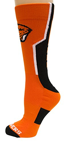 Oregon State Beavers Woven Jacquard - Donegal Bay NCAA Oregon State Beavers Unisex Oregon State Orange Sport Sockoregon State Orange Sport Sock, Black, One Size