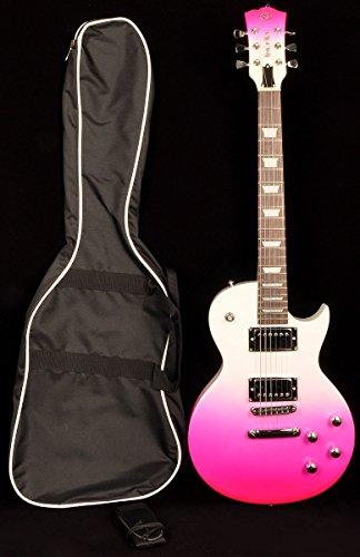 sx pink guitar - 1