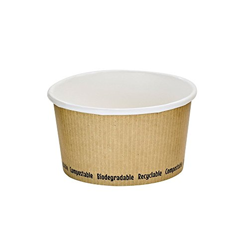 PacknWood Compostable Paper Soup Cup, 12 oz. (Case of 500) by PacknWood