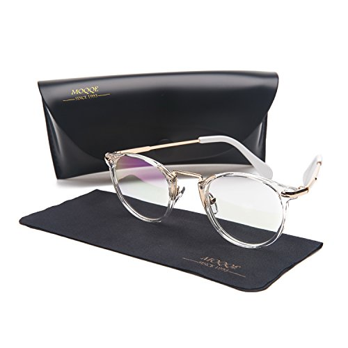Eyewear Frames Eyeglasses Optical Frame Round Elegant Clear Lens Glasses For - Eyeglasses Round Best For Frames Face