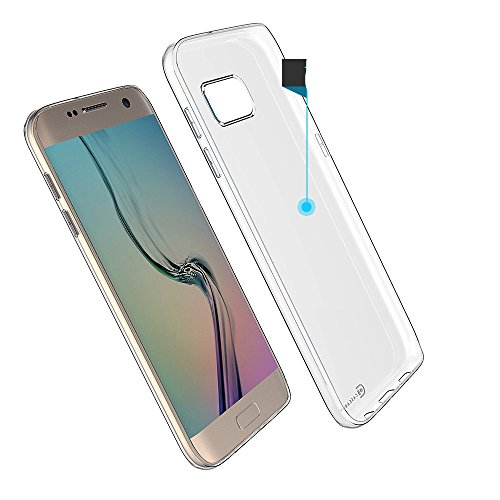 TPU Thin Case for Samsung Galaxy S7 Edge (Clear) - 2