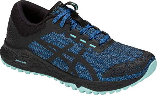(ASICS Women's Alpine XT Running Shoe, Blue Coast/Black, 9.5 B US)