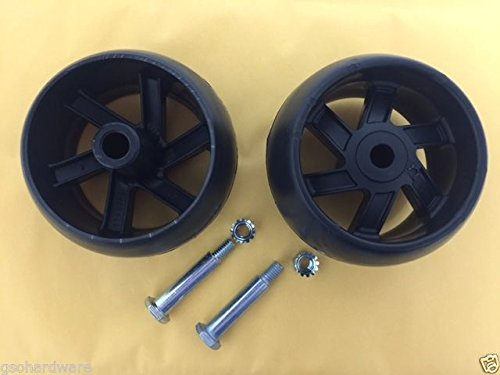 2PK Husqvarna Deck Wheel Kit Compatible With 532174873, 174873, 133957, 193406 ;(from_gsohardware by QSI