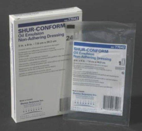 McKesson Sterile Shur-Conform Oil Emulsion Impregnated Gauze Dressings 3 X 8 Inch (Oil Emulsion Dressing)
