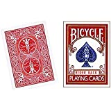 vélo cartes à jouer rouge-Bicycle Playing Cards Red