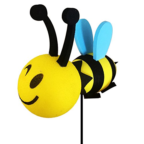 YGMONER Happy Bee Car Antenna Topper - Antenna Ball