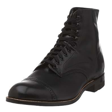 Stacy Adams Men's Madison Cap Toe Boot,Black,7.5 D