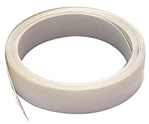 M-D Building Products 3525 V-Flex Weatherstrip,17-Foot Length, 3/8-Inch Wide, White