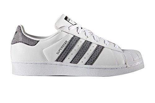 adidas Superstar W Basket Mode Femme Blanc 44