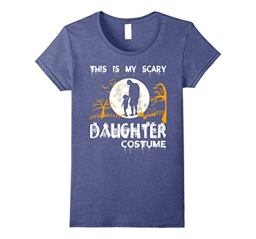 Womens This Is My Scary Daughter Costume T Shirt, Daughter T Shirt Medium Heather (Cute Mother And Daughter Costumes)
