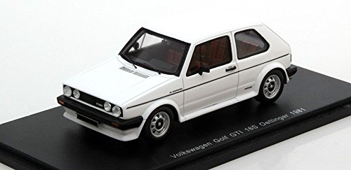 vw-golf-1-gti-16s-oettinger-1981-resin-model-car-in-143-scale-by-spark