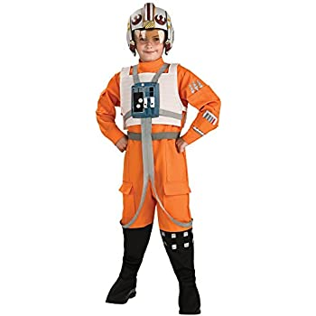 Amazon.com: Star Wars Classic X Wing Pilot Costume - Medium ...