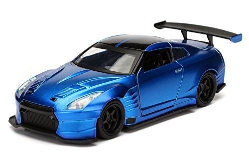Nissan Brian's 2009 GTR R35 Blue Ben Sopra Fast & Furious