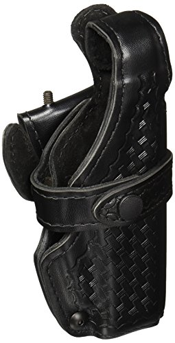 Safariland 070 Level III Retention Duty Holster, Mid-Ride, Black, Basketweave, Glock 17, 22 (Right Hand)
