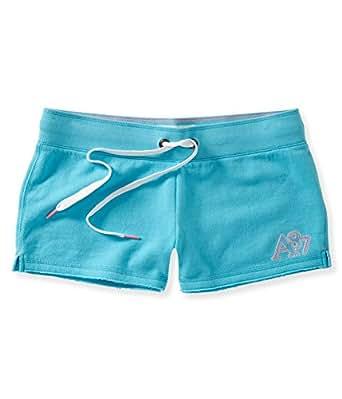 Aeropostale Womens Heritage Shorty Athletic Sweat Shorts 459 S