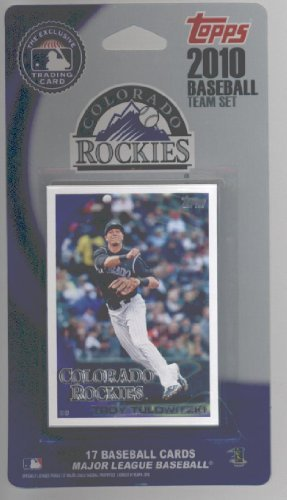 (2008 2009 & 2010 Topps Colorado Rockies Baseball Cards Team Set Lot - Over 50 Cards Lot Includes Troy Tulowitzki, Eric Young Jr., Jhoulys Chacin, Ian Stewart, Dexter Fowler, Chris Iannetta, Huston Street, Todd Helton, Clint Barmes & more)