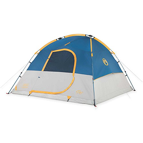 Coleman 6-Person WeatherTec Dome Tent in Blue | Measures 108