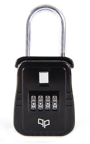 Lion Locks 1500 Key Storage Lock Box with Set Your Own Combination, Black