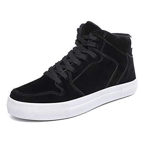Hombre Alta Para Zapatos Ayudar Usar De Black Hombres A Skate Lovdram Antideslizantes Los Moda Calzados Botas Invierno Casuales SqYfcxE0