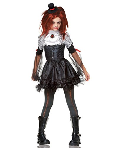Steampunk Costumes For Tweens (Costume Culture Little Girl's Edgy Vamp Costume Childrens Costume, black, Large)