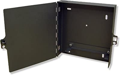Lynn Electronics Fiber Optic Wall Mount Enclosure Box, holds 1 LGX footprint panels or modules for a maximum capacity of 24 fibers