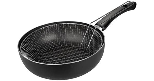 Amazon.com: Ibili 410618 sartén Set con cesta: Home & Kitchen