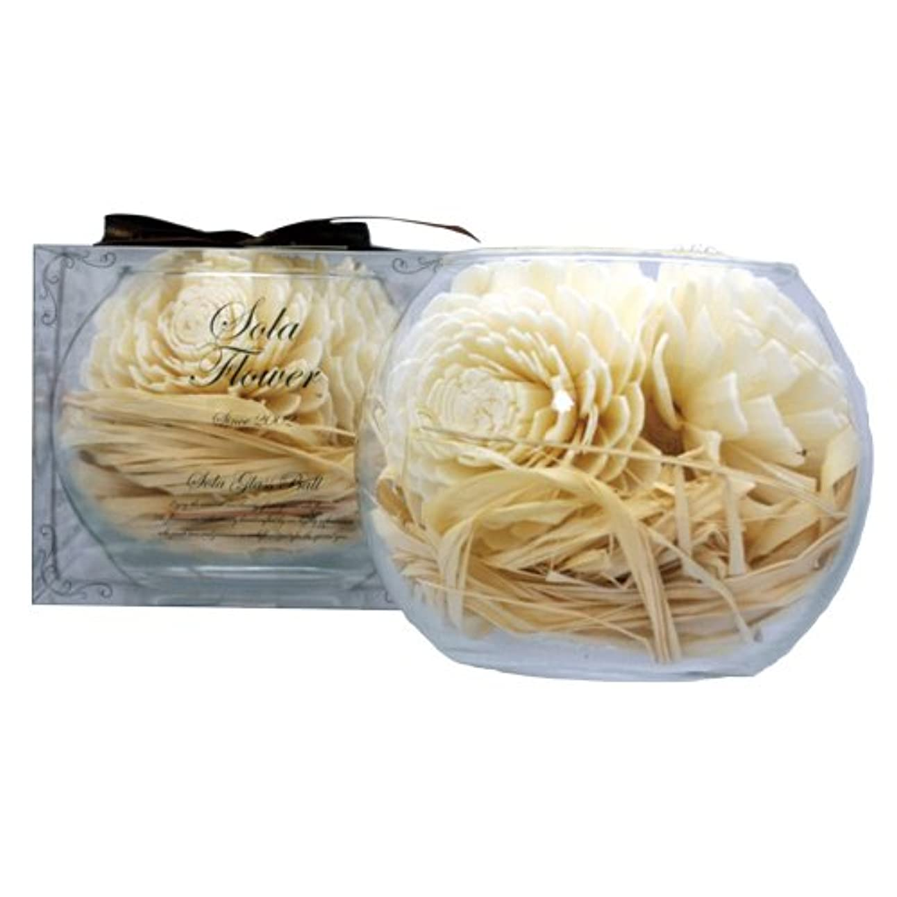 チラチラするこんにちは甘やかすnew Sola Flower ソラフラワー グラスボウル Sweet Dahlia スウィートダリア Glass Bowl