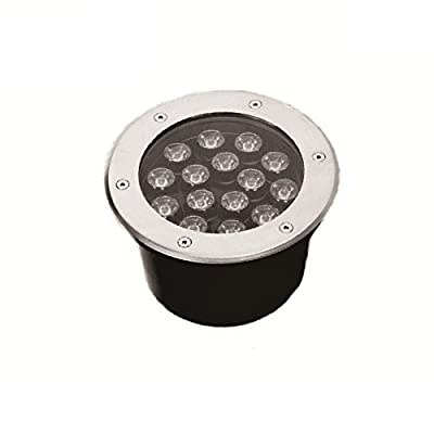 6000K 15W AC85-265V LED Outdoor Exterior Buried Spot Light Fixture Underground Flood Lamp Waterproof IP67