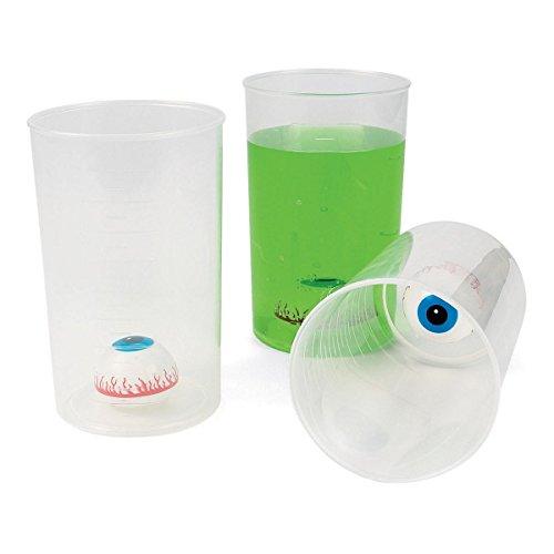 Halloween Eyeball Beaker Cup (Each) - Party Supplies