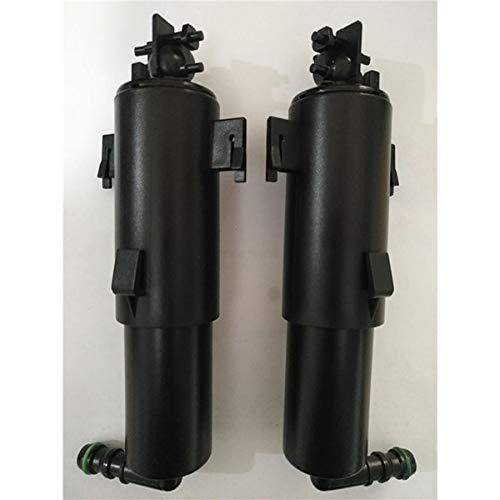 Cocas Left&Right Headlight Washer Sprayer Nozzle Pump for B MW E70 X5 2008-2013 OEM 61677173851 + 61677173852