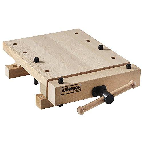 Sjobergs SJO-33309 Smart Workstation Pro Vise European Beech Workbench Top, Wood ()