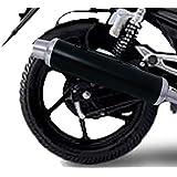 Speedwav Pe-1 Bike Slip On Performance Exhaust Can-Black - For All Bikes