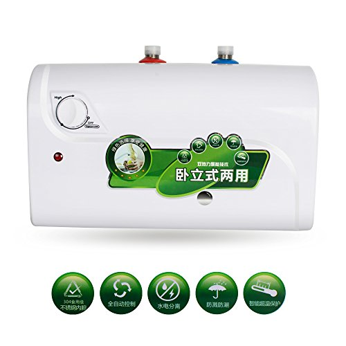 Pevor Electric Hot Water Heater 8L Tank 1500W 30℃~65℃ Fo