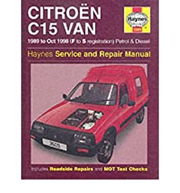 citroen c15 van service and repair manual by michael gascoigne rh amazon co uk Four-Door Citroen Numero 9 Citroen C2