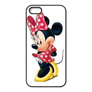 iPhone 5,5S Phone Case black Minnie Mouse TH6GH563959