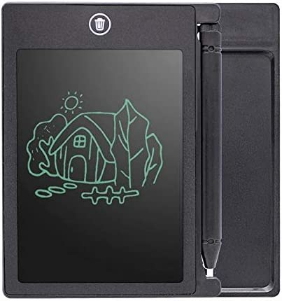 塗装用具 8.5インチ4.4インチLcdタブレットLCDタブレット子供用ペイントタブレット子供用LCDタブレットLcdライティングタブレット (色 : ブラック, Size : 4.4inch)