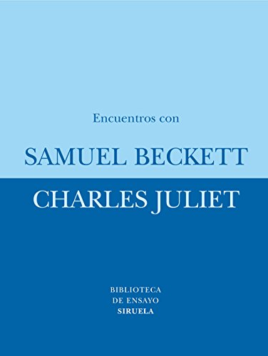 Books : Encuentros con Samuel Beckett/ Encounters with Samuel Beckett (Biblioteca De Ensayo: Serie Menor) (Spanish Edition)