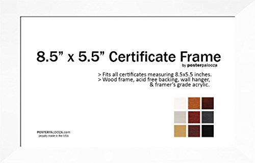 85-x-55-certificate-frame-wood-frame-holds-any-document-measuring-85-x-55-inches-white