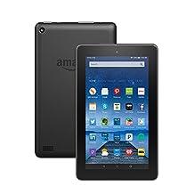 """Fire Tablet, 7"""" Display, Wi-Fi, 8 GB -Black"""