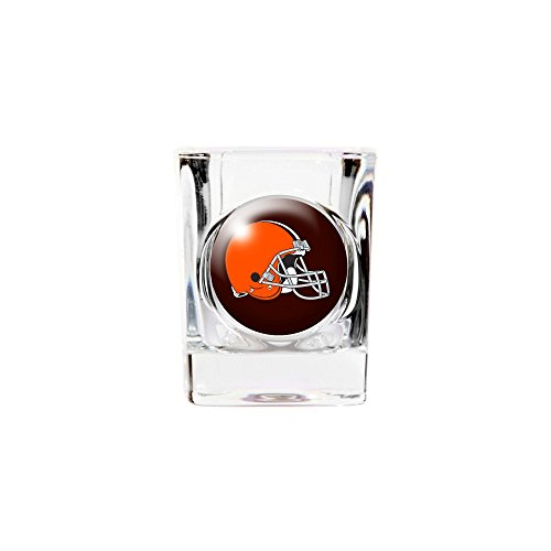 - Roy Rose Gifts NFL Cleveland Browns 2oz Square Shot Glass