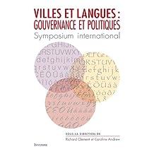 Villes et langues : gouvernance et politiques (French Edition)