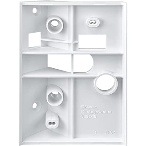 Amazon.com: Merten 565291 Montagewinkel, polar white, ARGUS: Kitchen & Dining