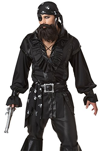 California Costumes Men's Plundering Pirate Adult, Black, X-Large - http://coolthings.us