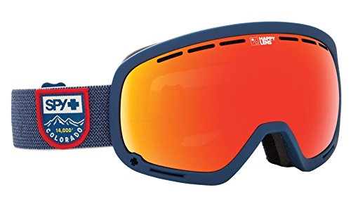 Arc Snowboard Jacket - Spy Optic Marshall Colorado Snow Goggles | Aviation Scoop Design Ski, Snowboard or Snowmobile Goggle | Two Lenses with Patented Happy Lens Tech