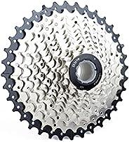 Bibike 8/9/10/11 Speed Bike Cassette 11-25T/11-28T/11-32T/11-36T Lightweight Road Bike Cassette Compatible wit
